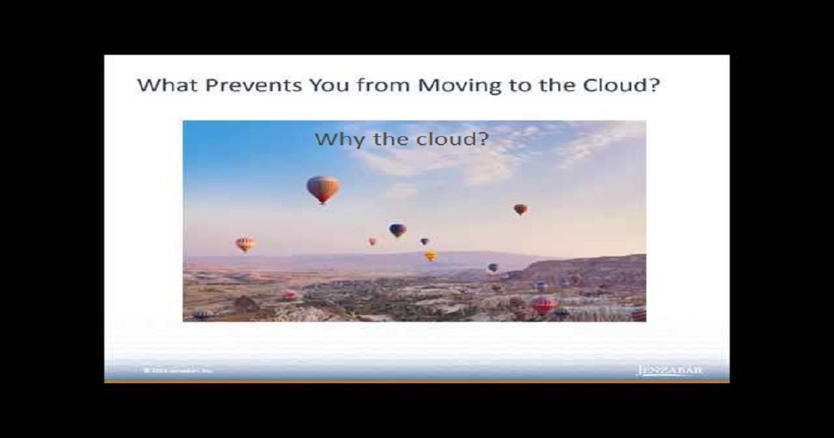 Why the Cloud?