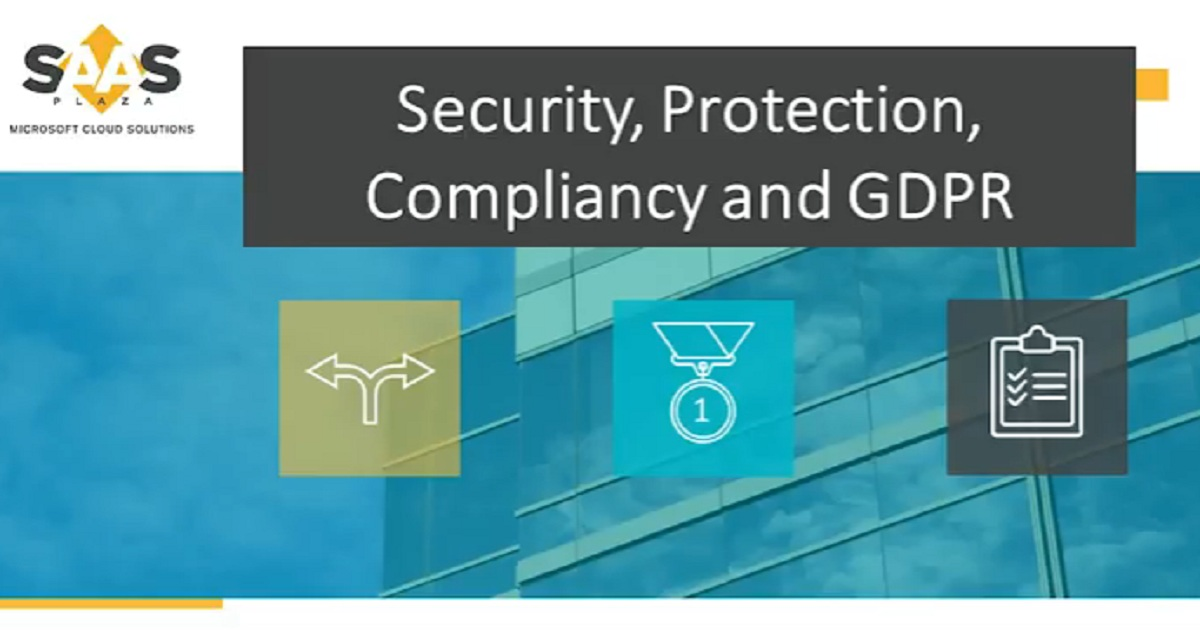 Security, Protection, Compliancy, and GDPR - Dynamics NAV Partner webinar