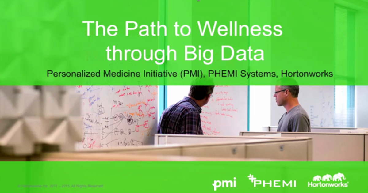 The Path to Wellness through Big Data