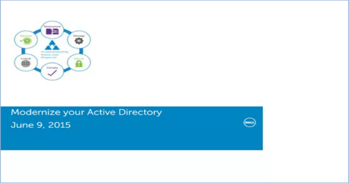 Highlights from an Active Directory Modernization Analysis