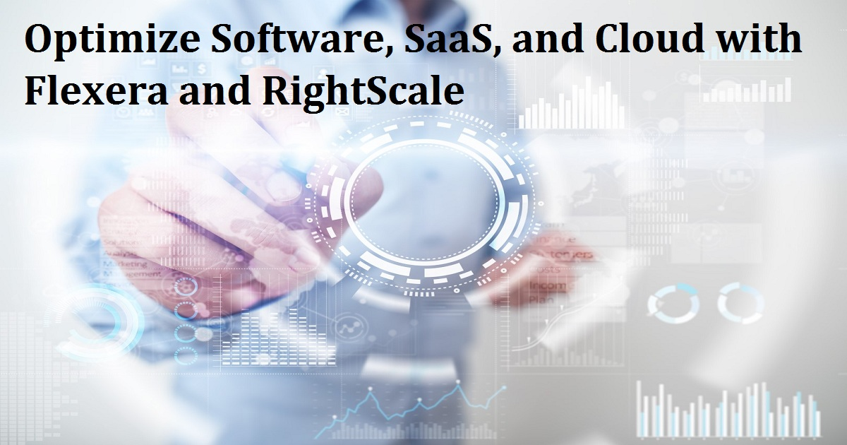 Optimize Software, SaaS, and Cloud with Flexera and RightScale