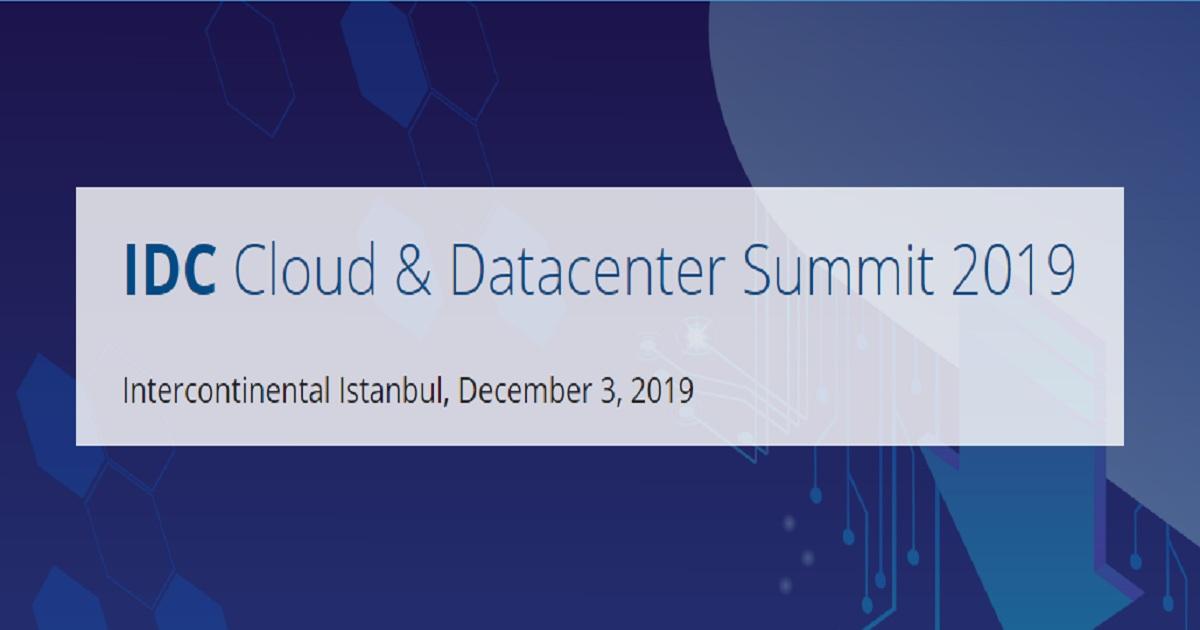 IDC Cloud & Datacenter Summit 2019