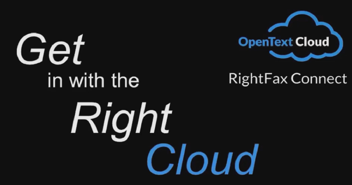Hybrid Faxing: Best Practices for Implementing a Cloud Fax Service with RightFax
