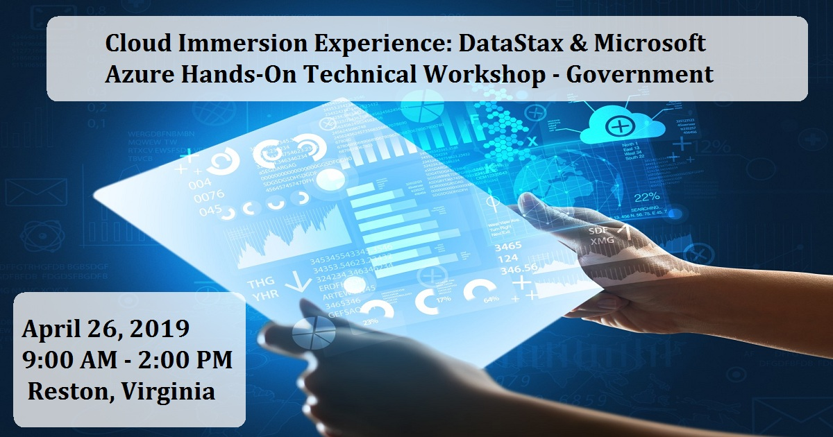 Cloud Immersion Experience: DataStax & Microsoft Azure Hands-On Technical Workshop - Government