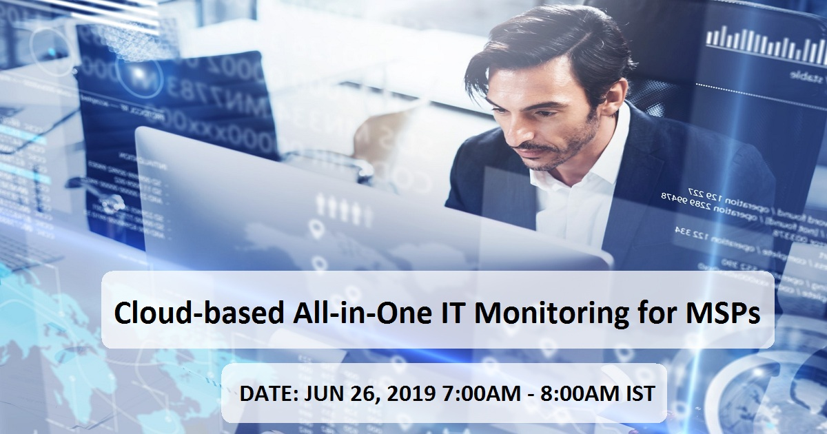 Cloud-based All-in-One IT Monitoring for MSPs