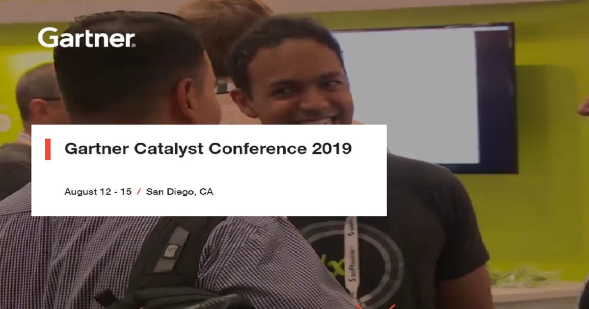 Gartners Catalyst Conference2019