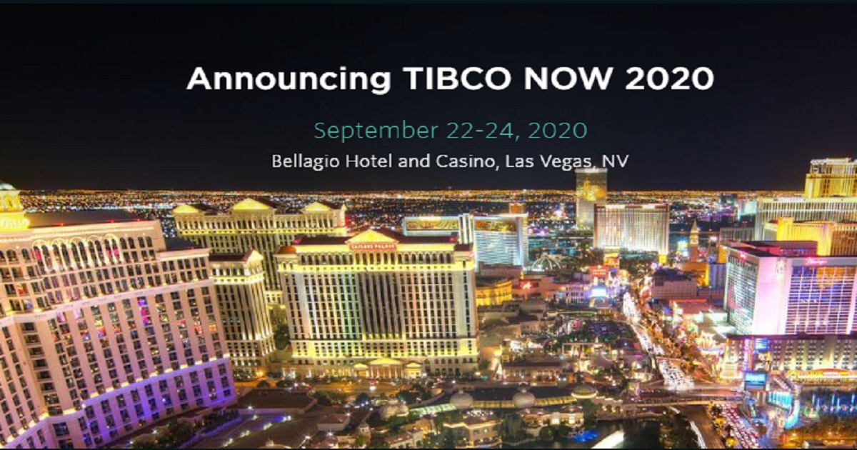 Announcing TIBCO NOW 2020