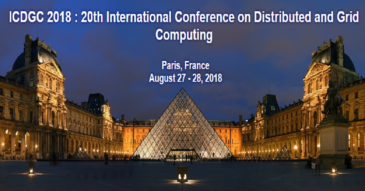 ICDGC 2018 : 20th International Conference on Distributed and Grid Computing