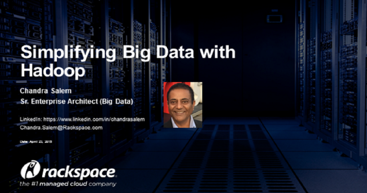 Big Data Solutions: Simplifying Data with Hadoop