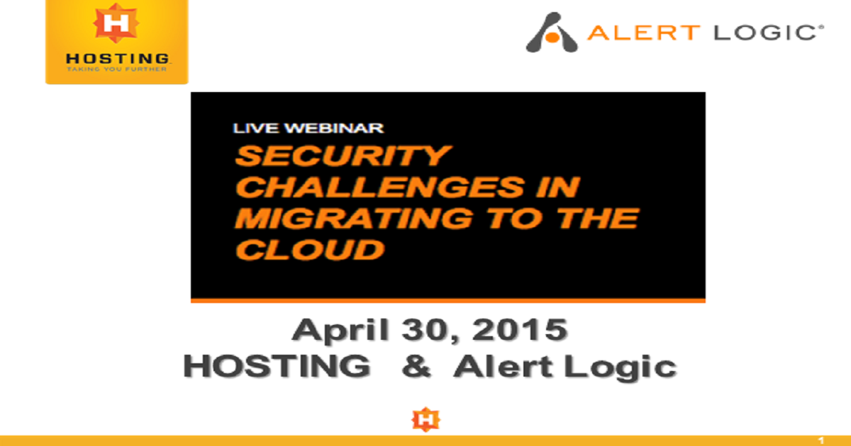 Security Challenges of Migrating to the Cloud