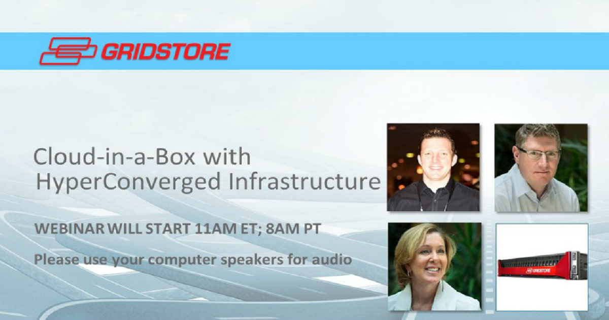 Microsoft MVP to Showcase Cloud-in-a-Box with Hyper Converged Infrastructure