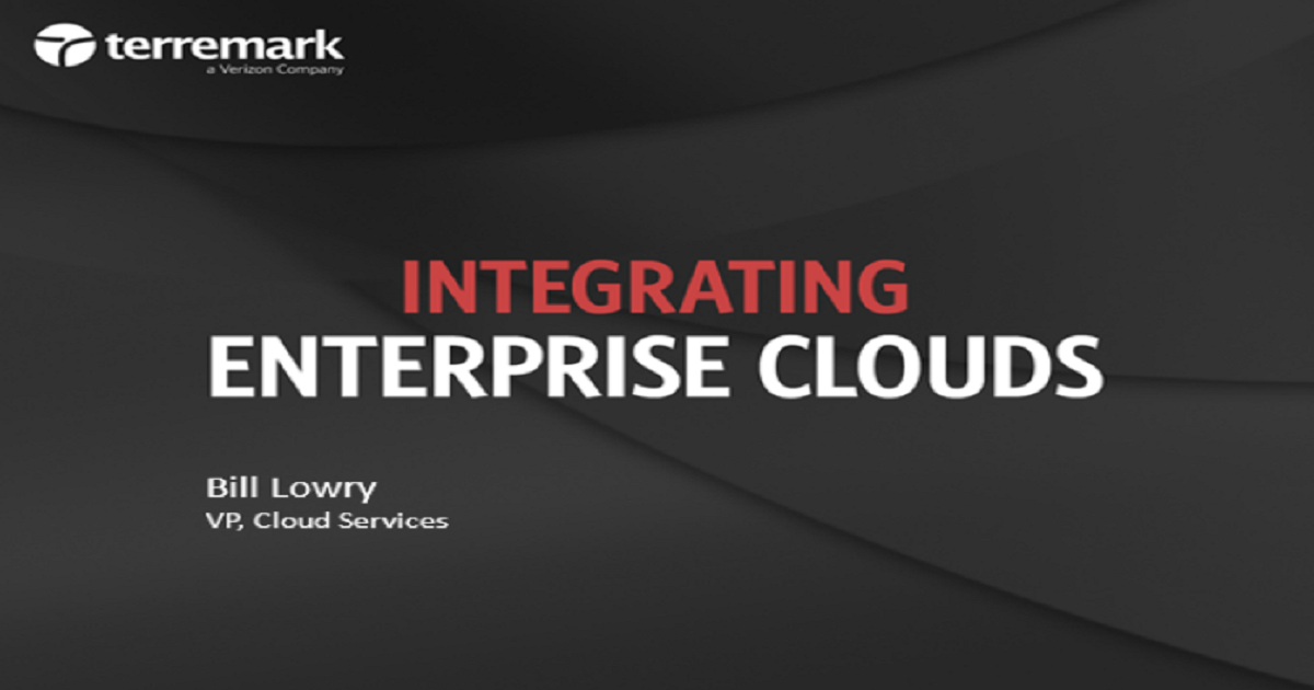 Integrating Cloud Services into your Infrastructure Strategy