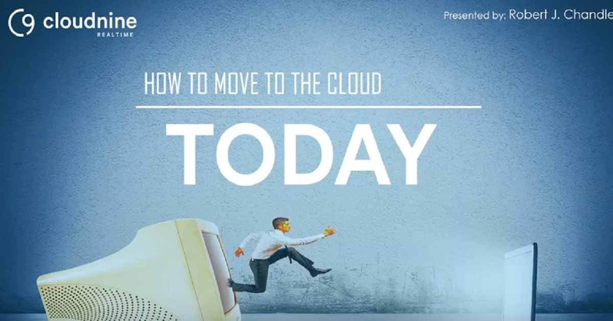 How to Move to the Cloud Today