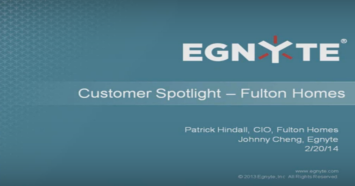 Customer Spotlight: Our Journey To The Cloud