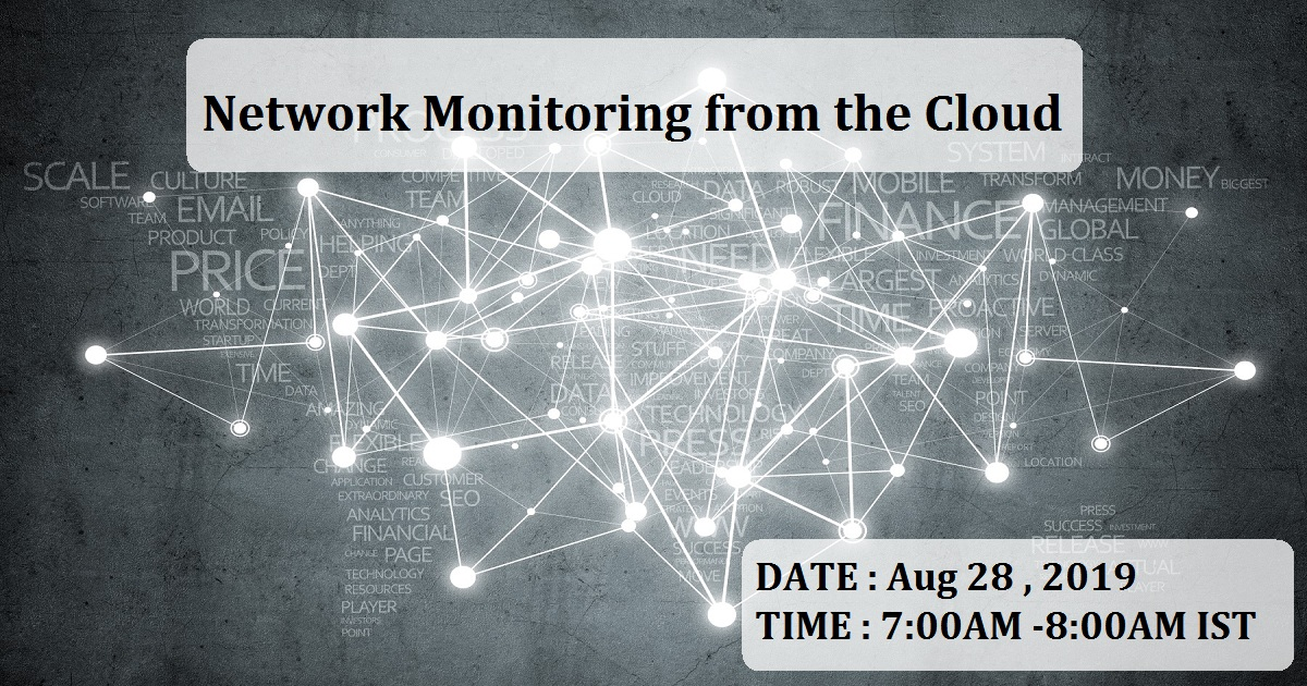 Network Monitoring from the Cloud