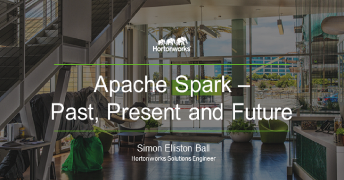 Big Data Series: Igniting the Spark