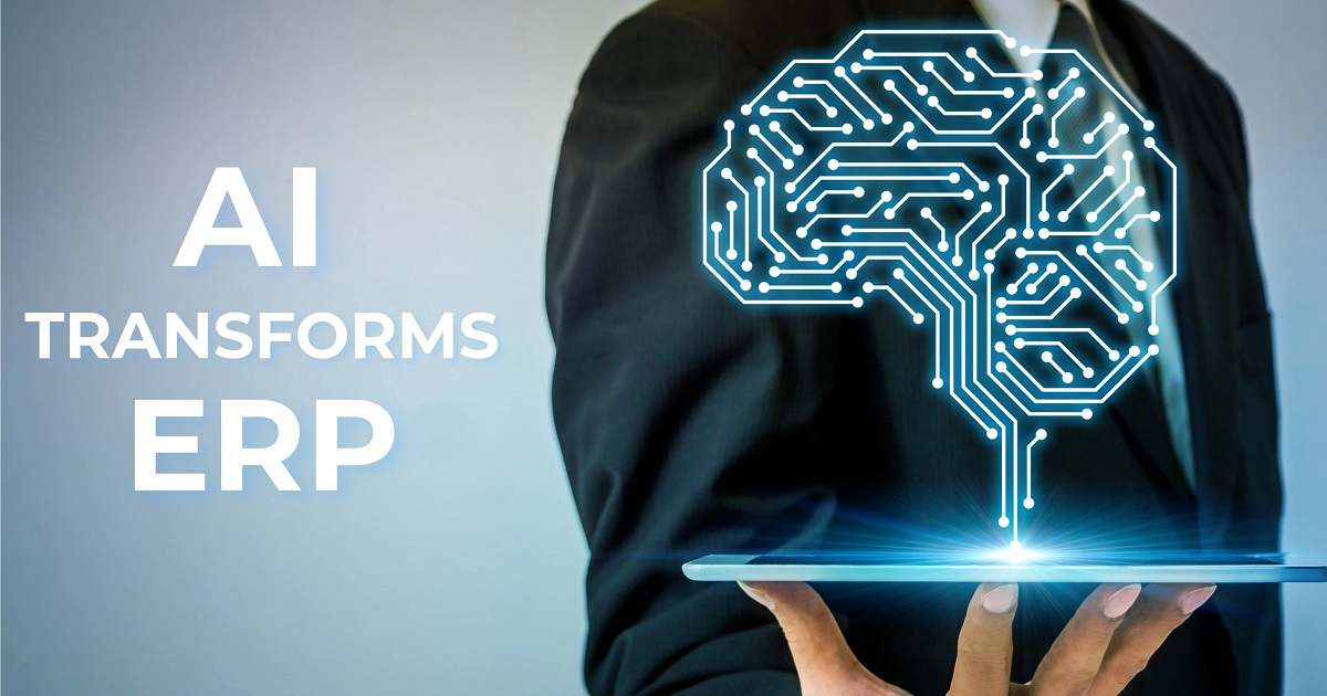 Artificial intelligence with the ERP CloudSuite - what does that mean in practice in day-to-day business?