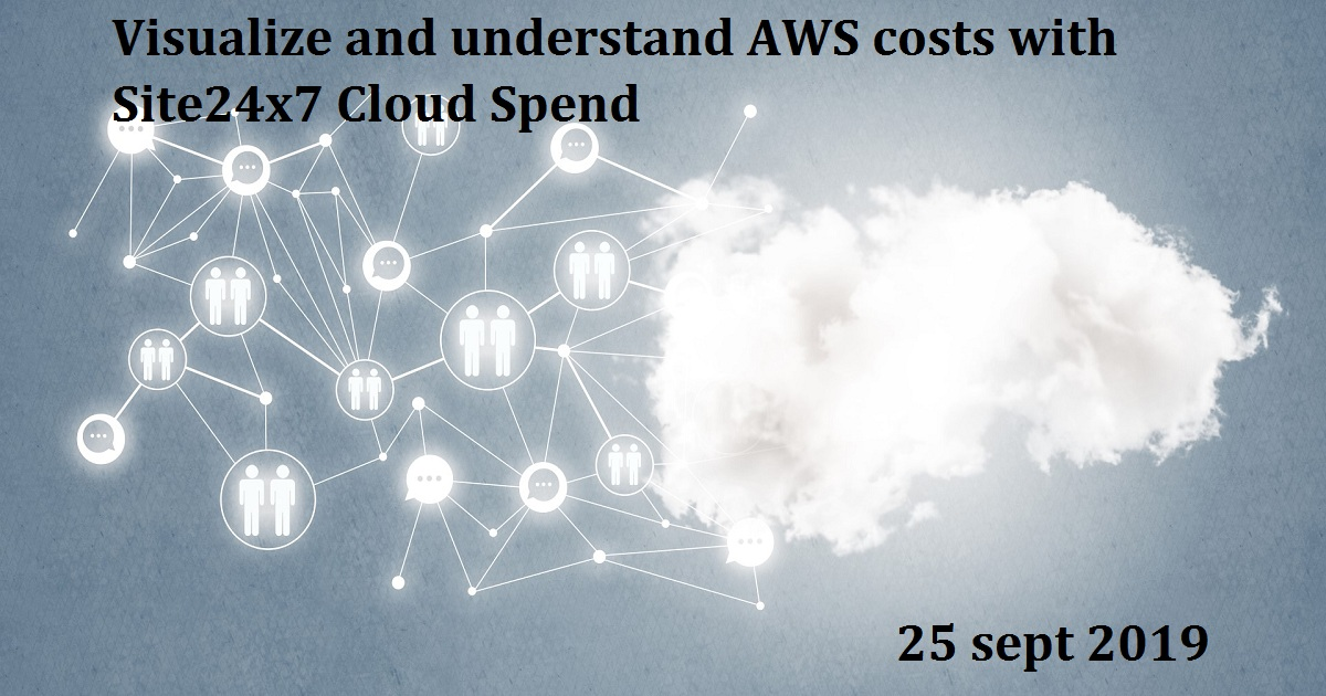 Visualize and understand AWS costs with Site24x7 Cloud Spend