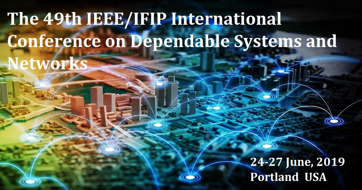 The 49th IEEE/IFIP International Conference on Dependable Systems and Networks