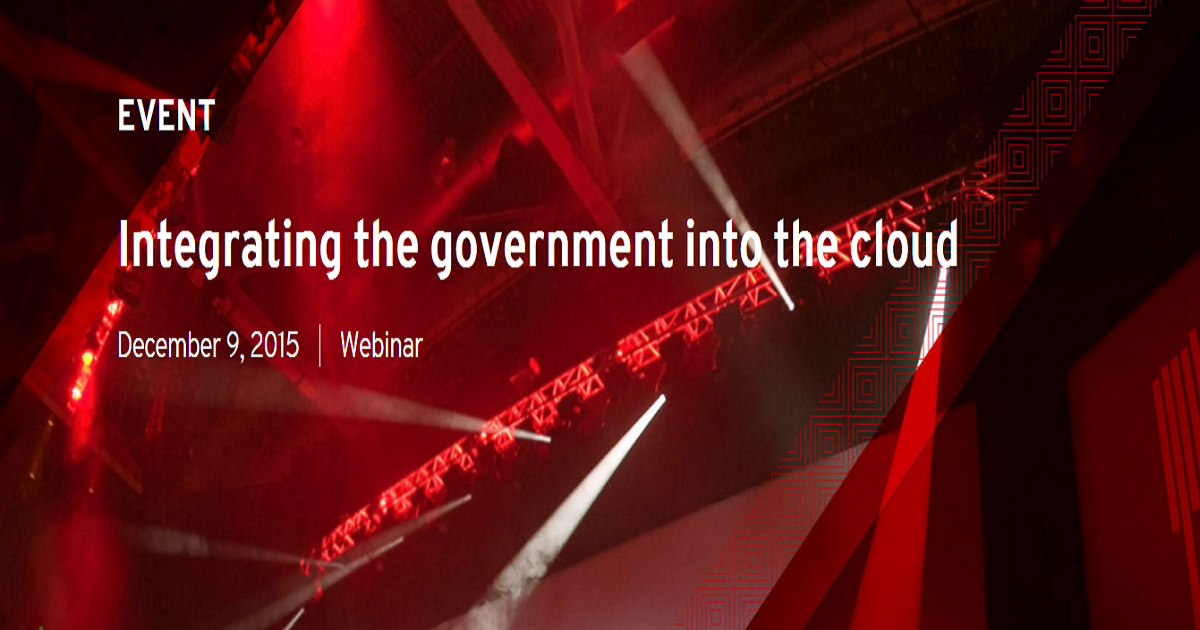 Integrating the government into the cloud
