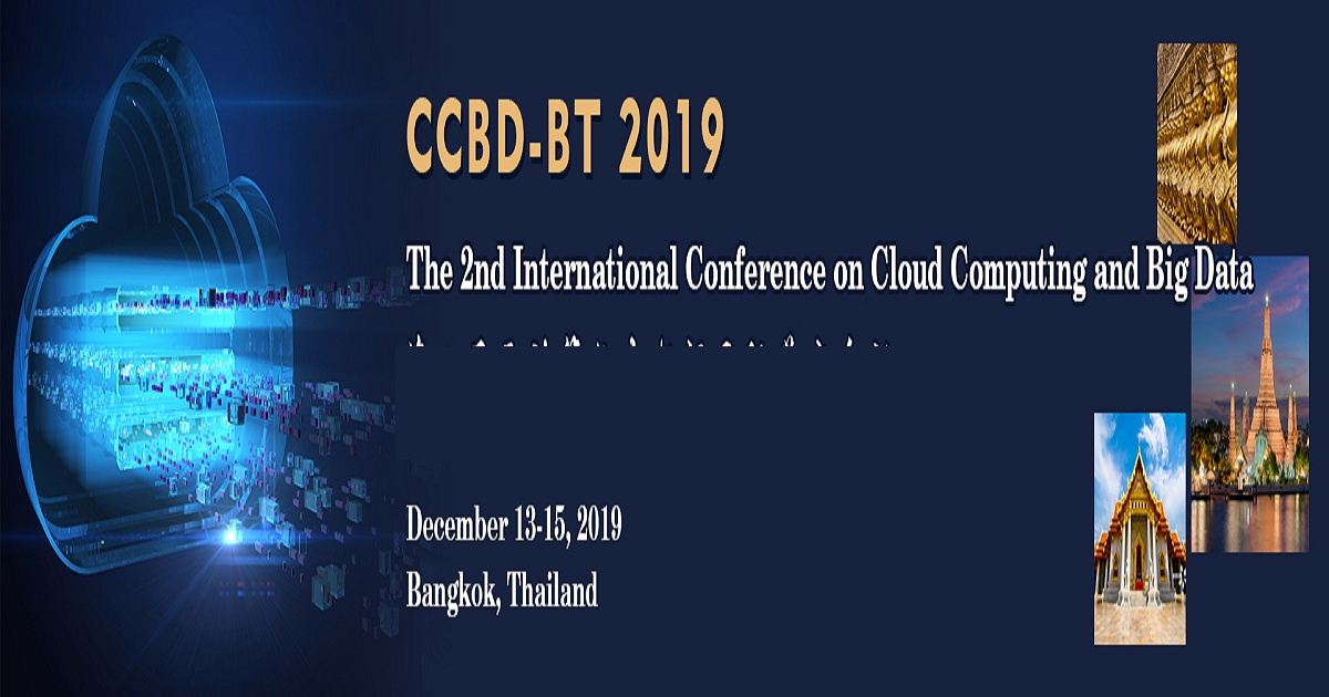 The 2nd International Conference on Cloud Computing and Big Data