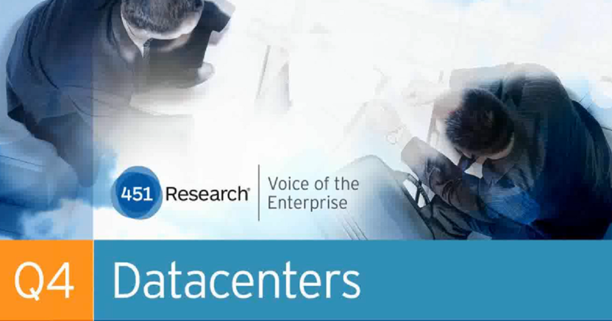 The State of the Datacenter Market: Disruption and Opportunity for 2015 and Beyond