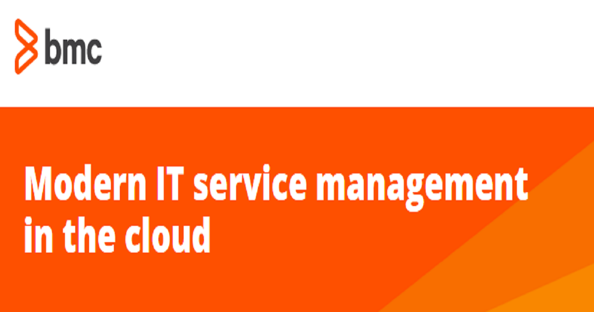 Modern IT service management in the cloud