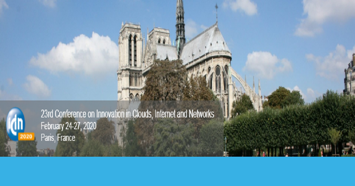 ICIN 2020 – 23rd Conference on Innovation in Clouds, Internet and ...
