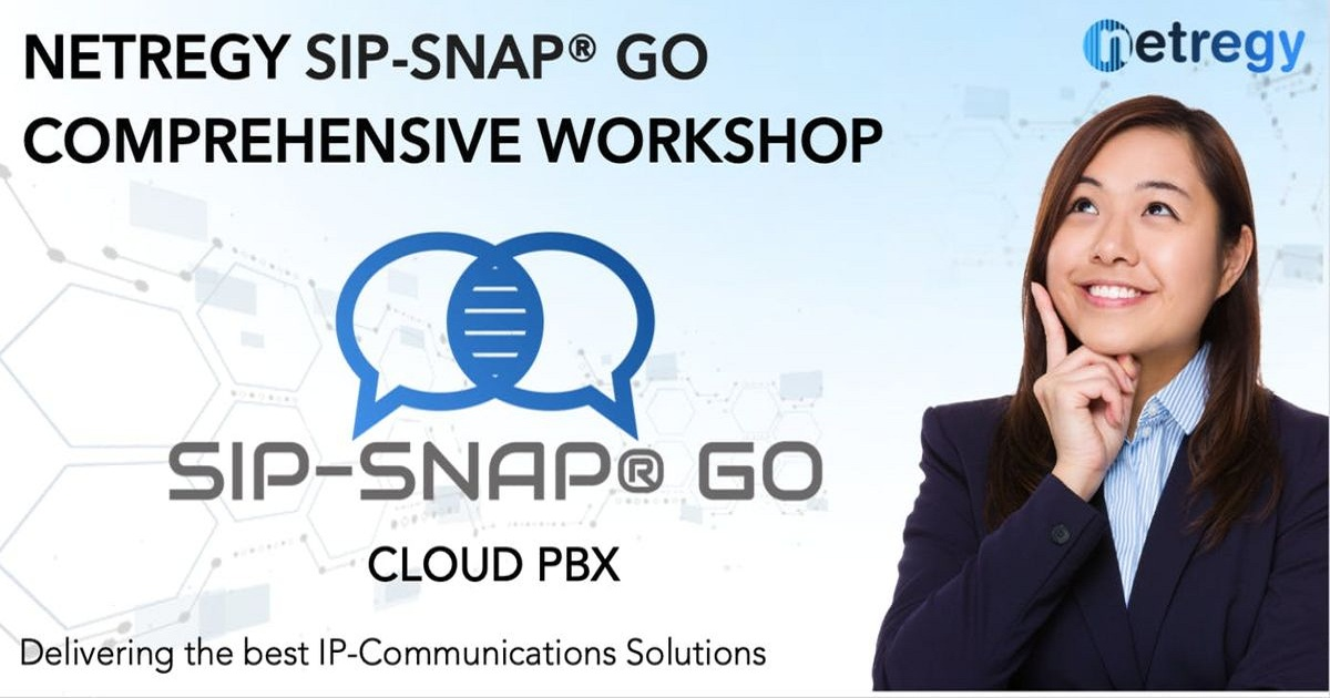 Comprehensive CLOUD PBX- Sip-Snap® GO Workshop