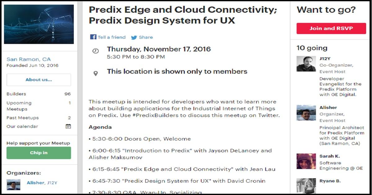 Predix Edge And Cloud Connectivity Predix Design System For Ux November 17 17 2016 Usa United States Of America