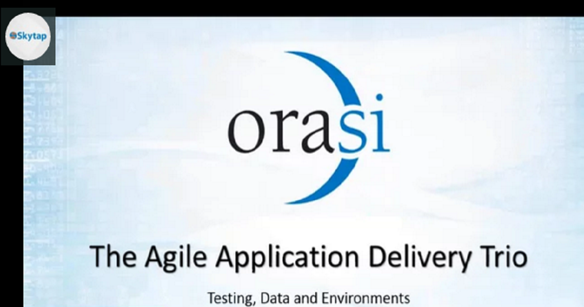 Agile Application Delivery Trio: Testing, Data and Environments