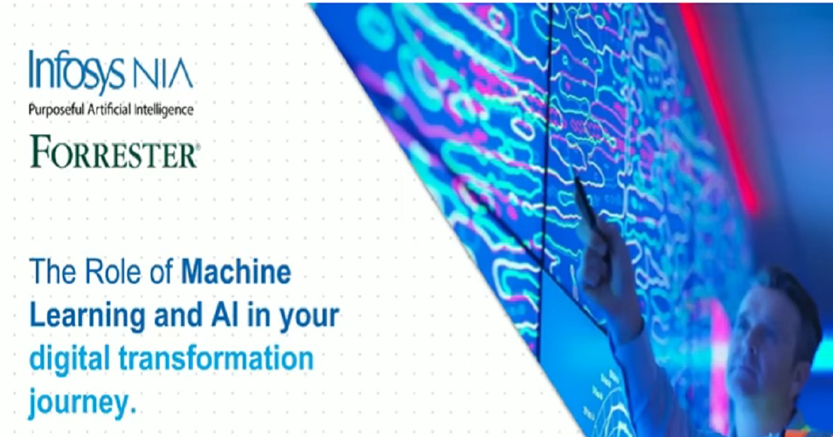 Webinar: The role of Machine Learning and AI in your digital transformation journey