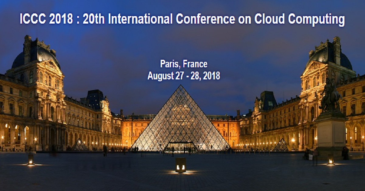 20th International Conference on Cloud Computing