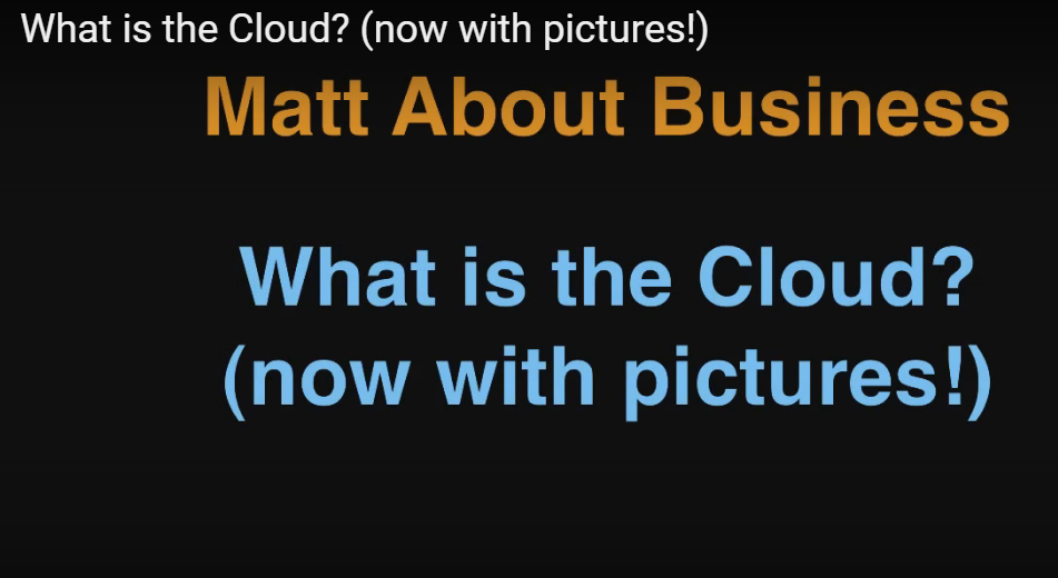 Videos on Getting Started With Cloud Computing