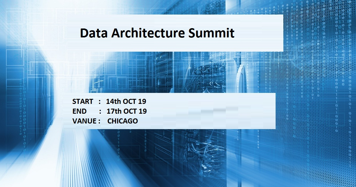 Data Architecture Summit
