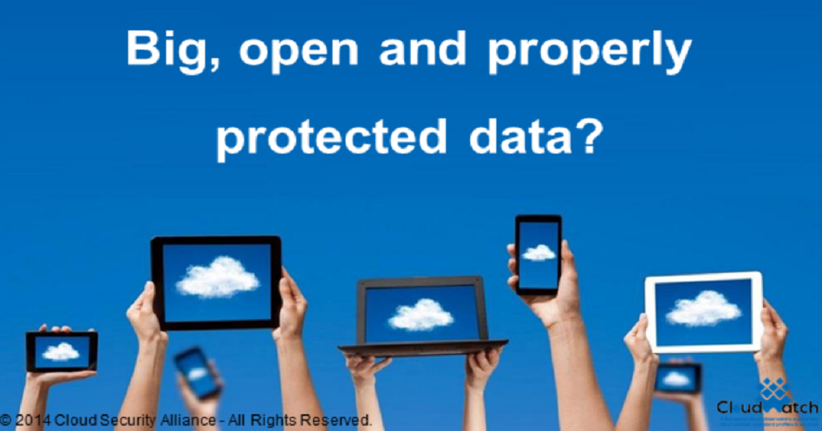 Big, Open, and Properly Protected Data?