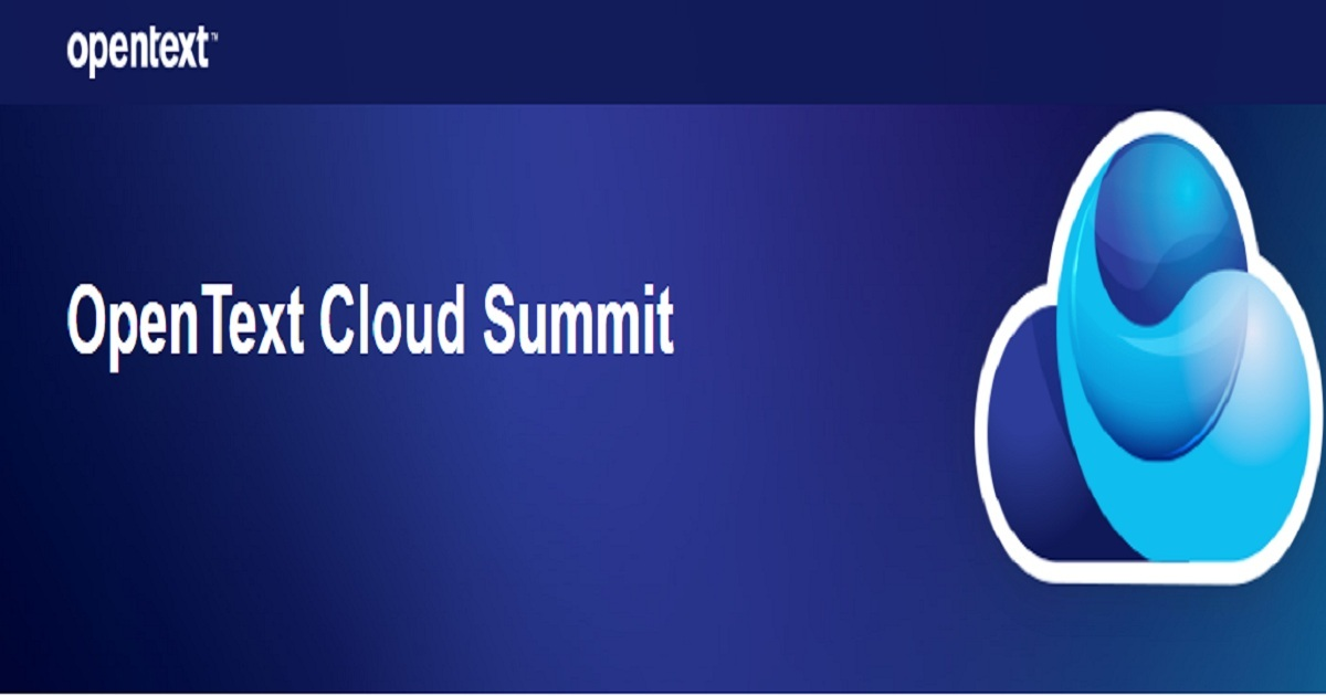 OpenText Cloud Summit