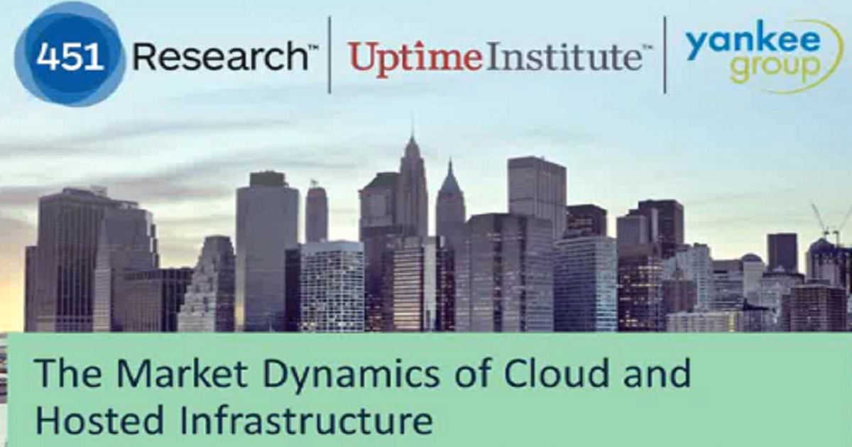 The Market Dynamics of Cloud and Hosted Infrastructure