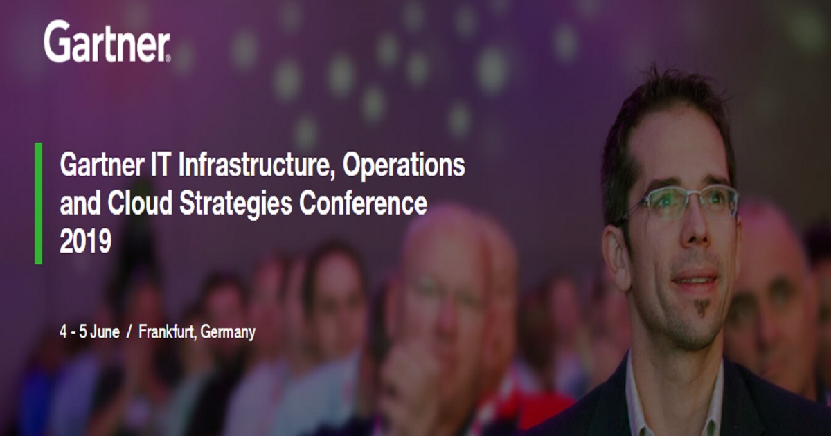 Gartner IT Infrastructure, Operations & Cloud Strategies Conference 2019