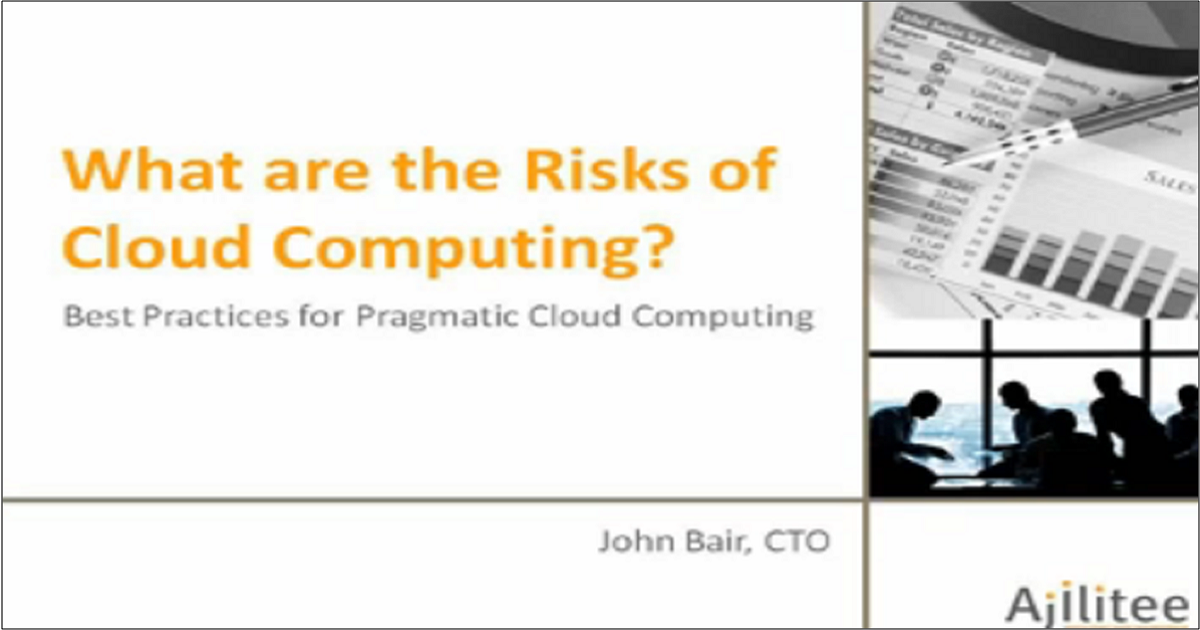 The Risks of Cloud Computing