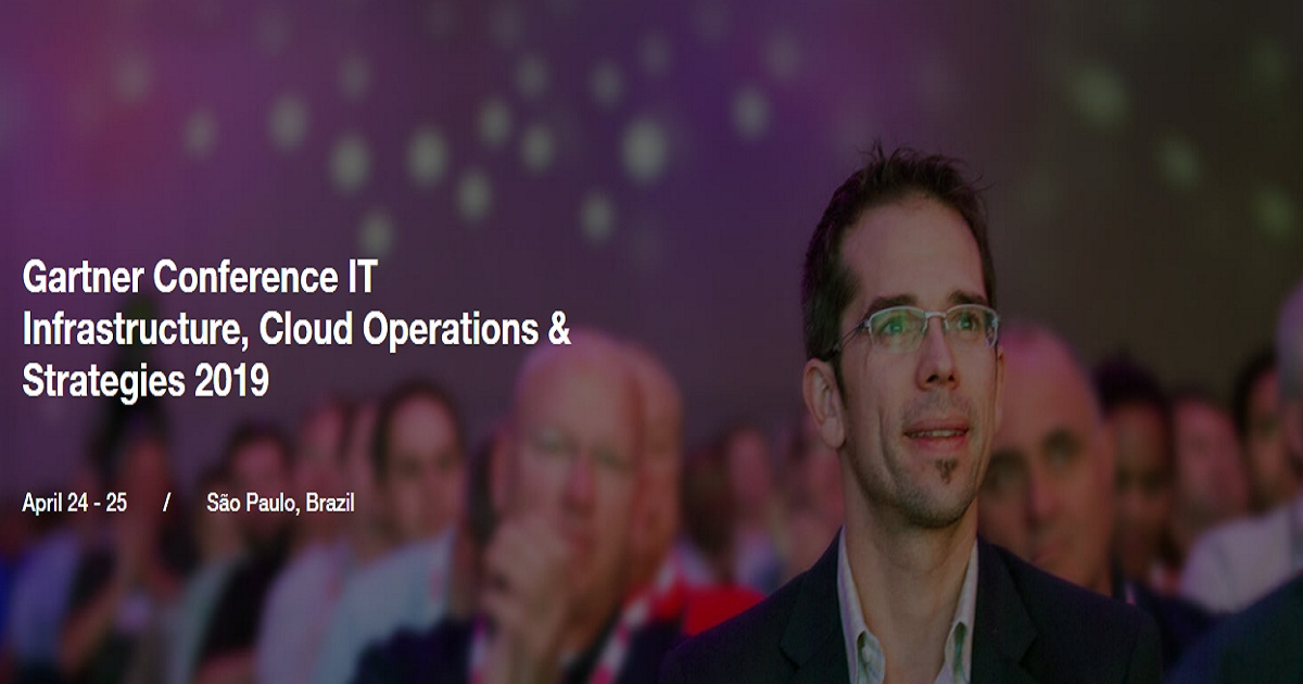 Gartner Conference IT Infrastructure, Cloud Operations & Strategies 2019