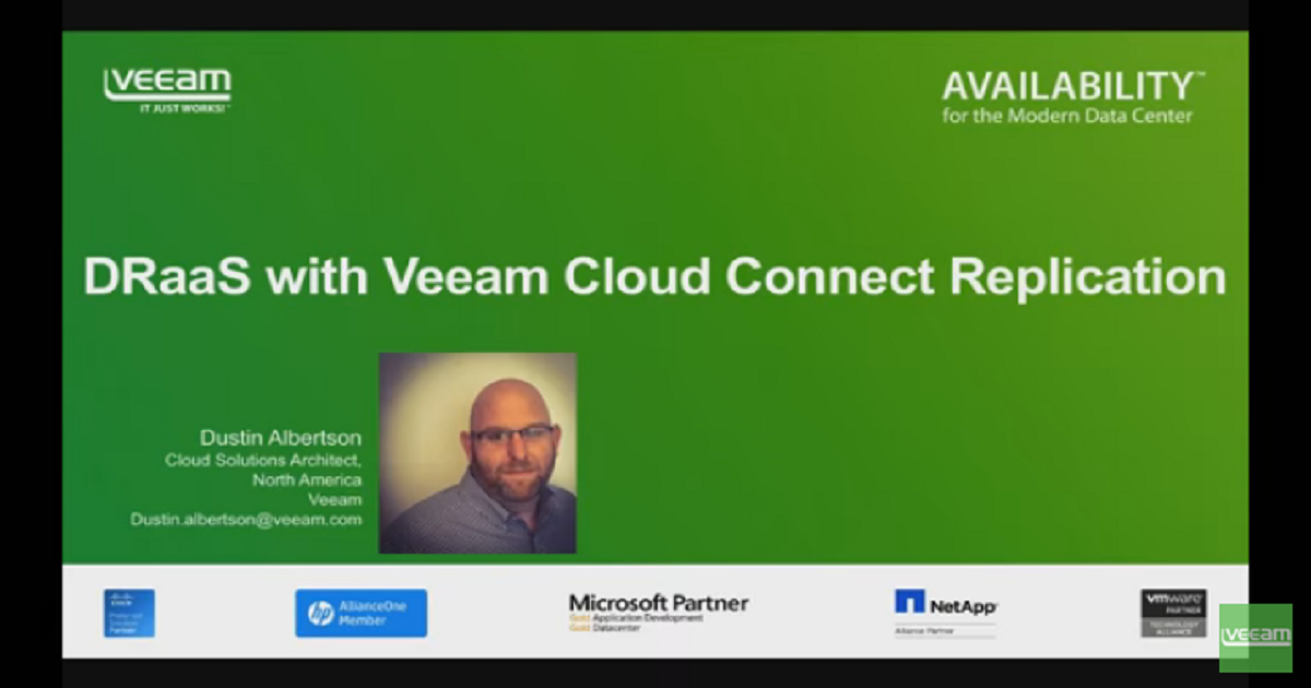 Grow your DRaaS business with Veeam