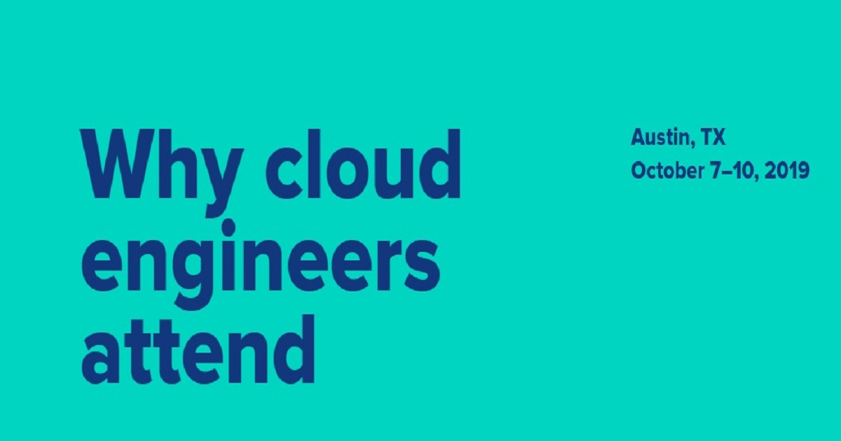 Why cloud engineers attend
