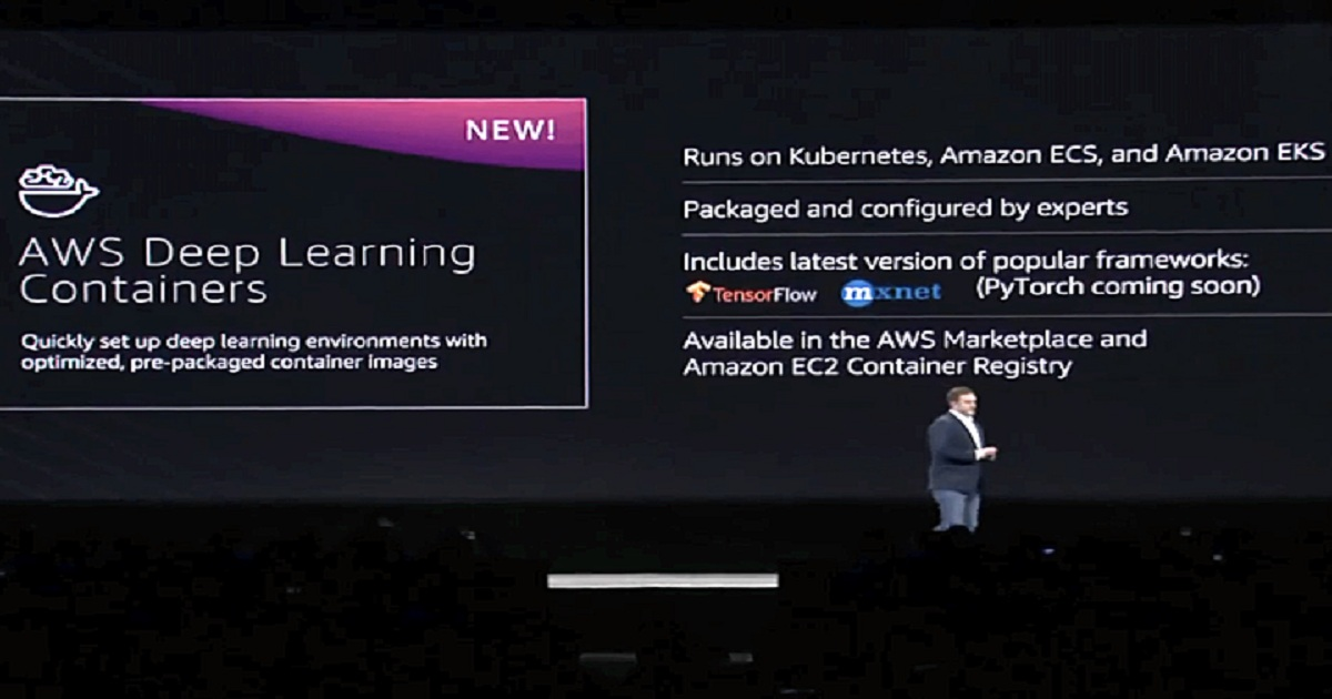 AWS Pushes Forward on Cloud Security, Database and AI Initiatives