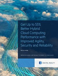 GET UP TO 55% BETTER HYBRID CLOUD COMPUTING PERFORMANCE WITH IMPROVED AGILITY, SECURITY AND RELIABILITY