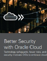 BETTER SECURITY WITH ORACLE CLOUD
