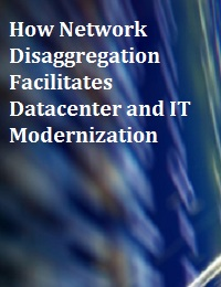 HOW NETWORK DISAGGREGATION FACILITATES DATACENTER AND IT MODERNIZATION