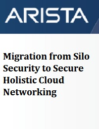 MIGRATION FROM SILO SECURITY TO SECURE HOLISTIC CLOUD NETWORKING