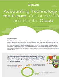 ACCOUNTING TECHNOLOGY OF THE FUTURE: OUT OF THE OFFICE AND INTO THE CLOUD