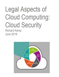 LEGAL ASPECTS OF CLOUD COMPUTING: CLOUD SECURITY